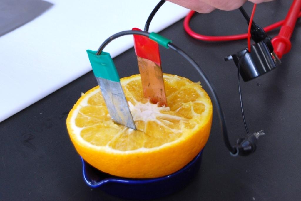 オレンジ電池